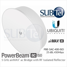 PBE-5AC-400-ISO Ubiquiti PowerBeam AC 5GHz 25 dBi RF Isolation UBNT