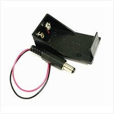 Electronic Component - 9V Battery Snap Holder with 2.1mm DC plug