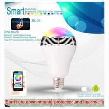 BL-05 Smart Bluetooth LED Bulb W/Bluetooth Speaker App Control
