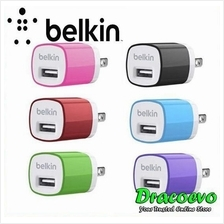 (OEM) Belkin Apple iPhone iPad Android USB Wall Charger Power Adaptor