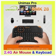 AMK28 - AIR MOUSE KEYBOARD TV BOX M8S HIMEDIA CS918 ZIDOO VIBOTON S1