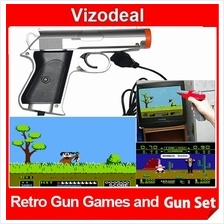 Gun Games Set Retro Video Games Card Catridge Tape