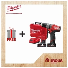 MILWAUKEE CORDLESS BATTERY M12 FUEL 2-SPEED PERCUSSION DRILL/DRIVER M12 CPD-40