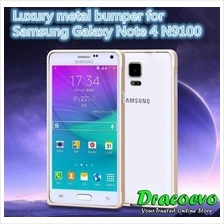 Samsung Note 2 3 4 Easy Clip Screwless Aluminum Bumper Case