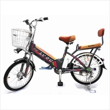 Electric Bicycle King Kong 48V 240W Lithium Battery 8AH 20 Inch Tyre
