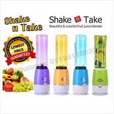 NEW Shake N Take 3 Juice & Fruit Blender with 2 Bottles