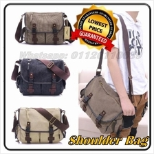 Multi Components Shoulder Bag Canvas Bag Messenger Bag 3 Colors