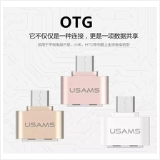 Original USAMS Samsung Android OTG Microusb USB Mini Portable Adapter