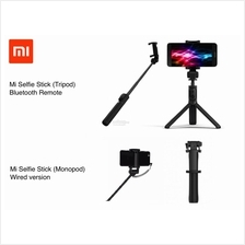 Original XIAOMI Mi Selfie Stick Monopod Wired, Tripod Bluetooth Remote