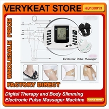 Digital Therapy Body Slimming Electronic Pulse Foot Massager Machine
