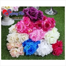 OPEN ROSE BUSH 935 - 7 *5 ARTIFICIAL DECORATION FLOWER