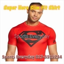 Super Hero Slim Fit Compression Shirts Baju Black Panther Long Sleeves
