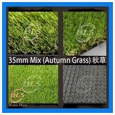 35MM ARTIFICIAL GRASS  ( RM 5.00 1' X 1' )FAKE GRASS, SYNTHETIC - MIX