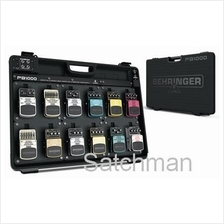 BEHRINGER PB1000 Pedal Board With Power Supply (NEW) - FREE SHIPPING