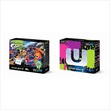 Nintendo Wii U Deluxe Console Super  Splatoon Promo
