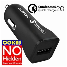 CLIPTEC 3.0A Qualcomm Quick Charge 2.0 USB Car Charger GZU511