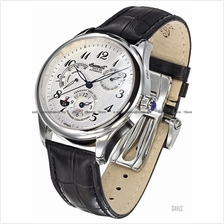 INGERSOLL IN8410WH Automatic Sam Sapphire GMT M-White Leather LE