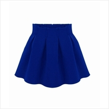 Trendy Pleated Design Skirt