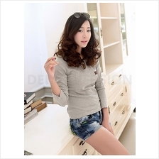 Trendy Casual Lady Long Sleeve Top