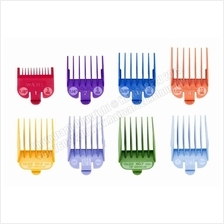 Wahl Barber 8 Pack Colored Hair Cutting Guides Clipper Attachment Comb