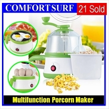 Multifunction 3 Minutes Fast Cooker, Popcorn Maker, Food Egg Steamer