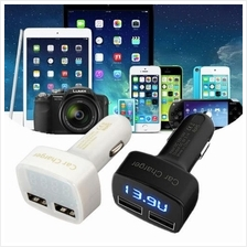 3.1A 4 in 1 Car Charger With Car Battery Voltmeter Display