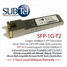 10Gb/s 2km SFP Plus (SFP+) Transceiver 1310nm SMF 10GBASE-LR Juniper