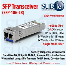 10Gb/s 10km SFP Plus (SFP+) Transceiver 1310nm SMF 10GBASE-LR Cisco