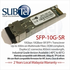 10Gb/s 2km SFP Plus (SFP+) Transceiver 1310nm SMF 10GBASE-LR Ubiquiti