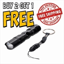 Portable Outdoor 1 Mode Water Resistant 3W LED Mini Torch Light