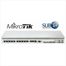 RB1100AHx2 Mikrotik Gigabit Router 13 port Dual Core RouterOS Malaysia