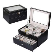 20 Slots PU Leather Watch Display & Storage Box Case ~ Ready Stock