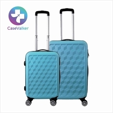ABS Protector Water Cube Trolley Case Luggage Bag 20' 24' inch
