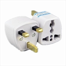 3pin Universal Multi Power Travel UK Plug Converter Adaptor Adapter