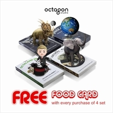 Octagon Studio Fun Iteractive Kid Learning 4D+ Flash Card FREE GIFT