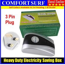 Original 3pin Heavy-Duty Electricity Saving Box Energy Saver UK 15KW
