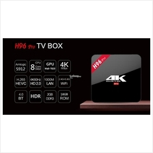 H96 PRO Amlogic DDR3 Octa core Android 7.1.2 set TV box