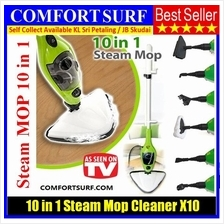 NEW H2O Mop X10 10in1 / X5 5in1 Multi-Floor Steam Mop Cleaner Steamer