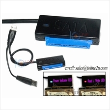 2x USB 3.0 to 2.5'' SATA HDD Connection Adapter converter Cable USB3.0 Aux Powe