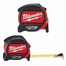 MILWAUKEE Heavy Duty Magnetic Double Sided Measuring Tape 8M/26FT 48227225