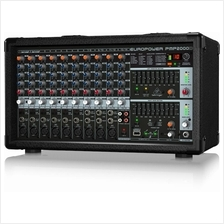 BEHRINGER Europower PMP2000D (2000W, 14-Ch) Mixer with FX - FREE SHIP