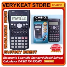 Electronic Scientific Standard Model School Calculator CASIO FX-350MS
