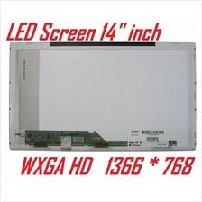 "New Laptop LCD LED Screen Panel 14 inch 14"" 1366*768 WXGA HD 1366 768"