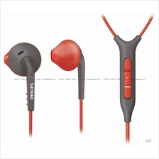 Philips SHQ1217 In-Ear Headset . iPhone remote mic . Sports Sweatproof