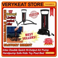 Intex Double Quick Hi-Output Air Pump Handpump Sofa Kids Toy Pool Bed