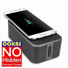 I-TECH PowerBrick Wireless Bluetooth NFC Speaker with Qi Charging