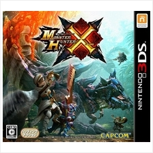 Monster Hunter X 3DS Japan