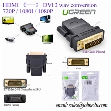 UGREEN HDMI Female to DVI male Full HD Gold plated 1080P Converter adapter