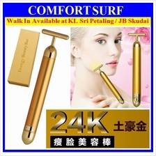 24K Gold Beauty Bar Facial Slimming Anti Aging Firming Face Massager