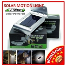 16 LED Solar Infrared Motion Sensor Security Light Wall Mount Lamp LED